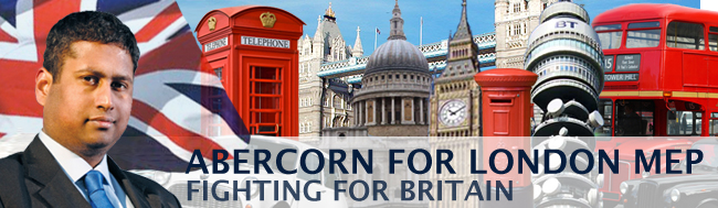 ABERCORN FOR LONDON MEP